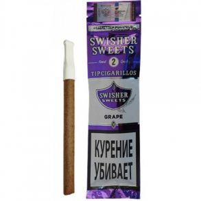 Сигариллы Swisher Sweets Grape Tip Cigarillos (2)