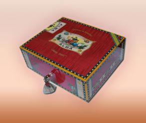 Хьюмидор Elie Bleu Альба на 110 сигар Indian Rosewood